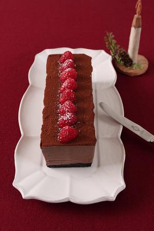 チョコアイスケーキ