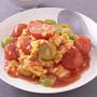 トマトと卵のふわとろ炒め