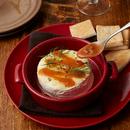 カマンベールチーズグリル 海老ソースがけ