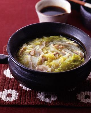 シンプル白菜鍋