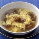 なめこの卵とじスープ