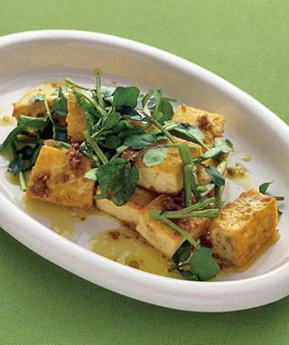 サイコロ豆腐ステーキ