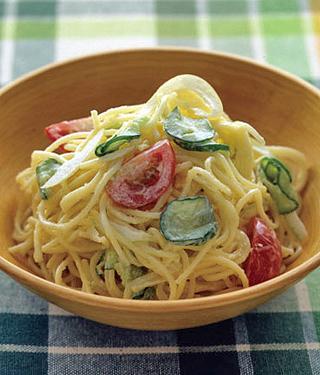 野菜のパスタサラダ