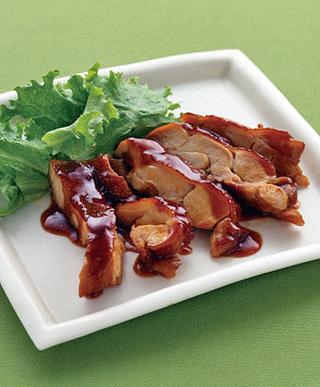鶏肉の韓国風照り焼き