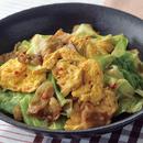 卵と豚肉のピリ辛炒め