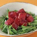 まぐろと水菜のサラダ