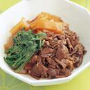 牛肉と大根のすき煮