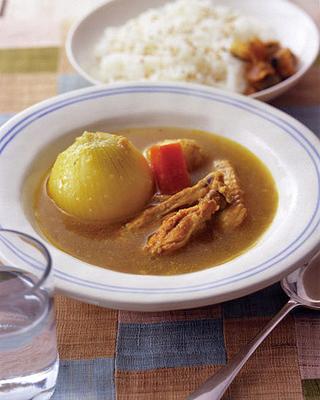 まるごと玉ねぎのスープカレー