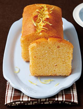 粉豆腐のレモンパウンドケーキ