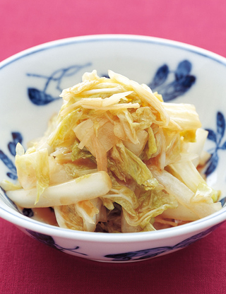 白菜の中華風甘酢漬け