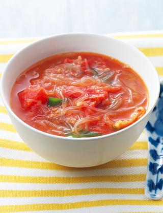 スープ 作り方 春雨 白菜と春雨の豚肉スープ レシピ・作り方
