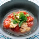 鶏肉とトマトの和風煮