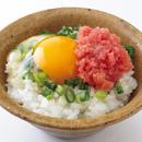 ねぎ明太子卵かけご飯