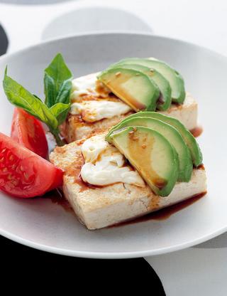 アボカド豆腐ステーキ
