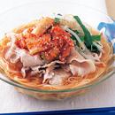 韓国風豚しゃぶ冷麺