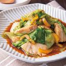 めかじきとレタスの中華煮