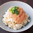 くずし豆腐の明太マヨだれ