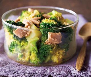 ブロッコリーのツナしょうゆ煮