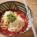 トマトキムチあえ麺