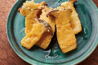 エリンギのカリカリチーズ焼き