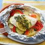 めかじきと野菜のホイル包み焼き