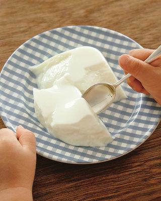 さっぱり牛乳プリン