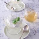 水きりヨーグルトのハニーレモンソース添え