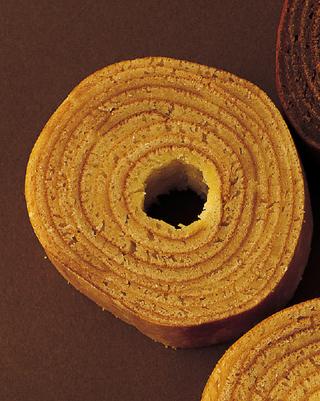 フライパンで作るバウムクーヘン