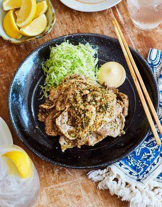 豚の自家製六味焼き