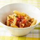 ゆで鍋いらずのトマトパスタ