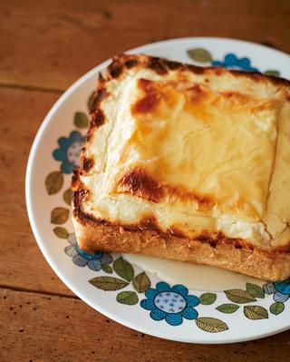 食パンdeチーズケーキ