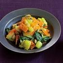 青梗菜とにんじんの辛ナムル