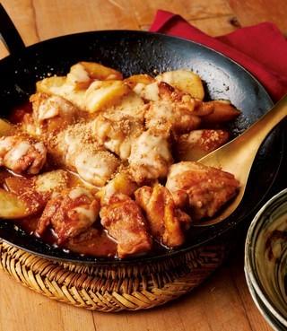 鶏肉のチーズタッカルビ風