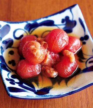 梅だしひたしトマト