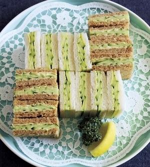 きゅうりのティーサンドイッチ