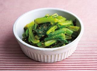 小松菜のカレーナムル