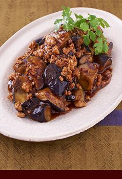 紀ノ国屋の中華の素で地域食材を楽しむ!「麻婆茄子」