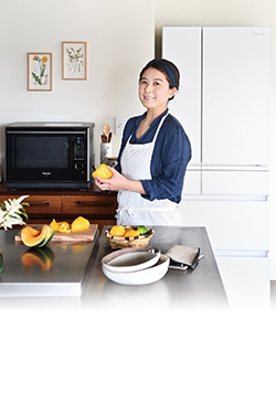 最新パナソニック冷蔵庫とオーブンレンジで平日ごはんも家電と夫におまかせ!