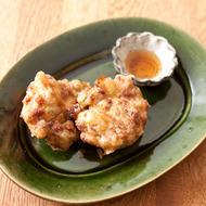 納豆と桜海老と長ねぎのかき揚げ