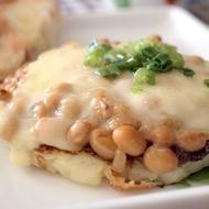 納豆チーズのジャガイモガレット