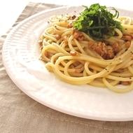 納豆スパゲッティ…